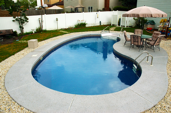 Swimming pool contractors dealers design performance for Grecian pool dimensions